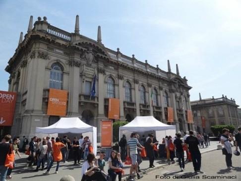 Politecnico di Milano - фасад вуза