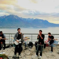 Студенческий вечер в Glion (Швейцария)