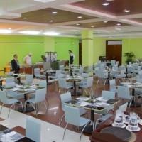 les roches jin jiang hotel: столовая