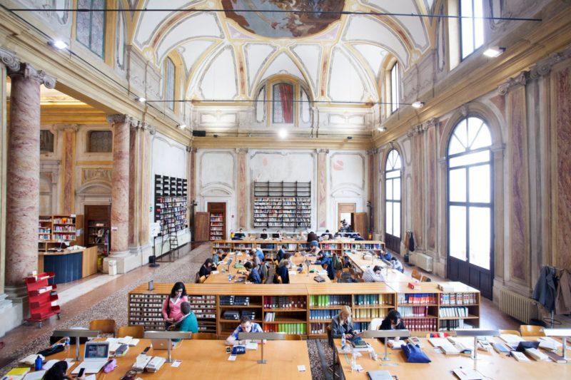 Главные направления обучения в Италии