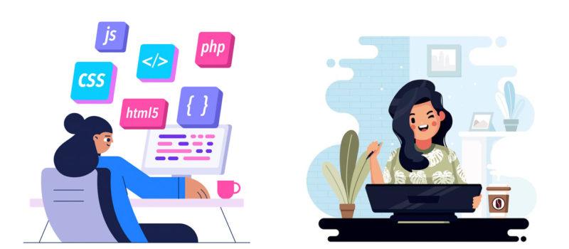 В чем разница между веб-разработкой и веб-дизайном?